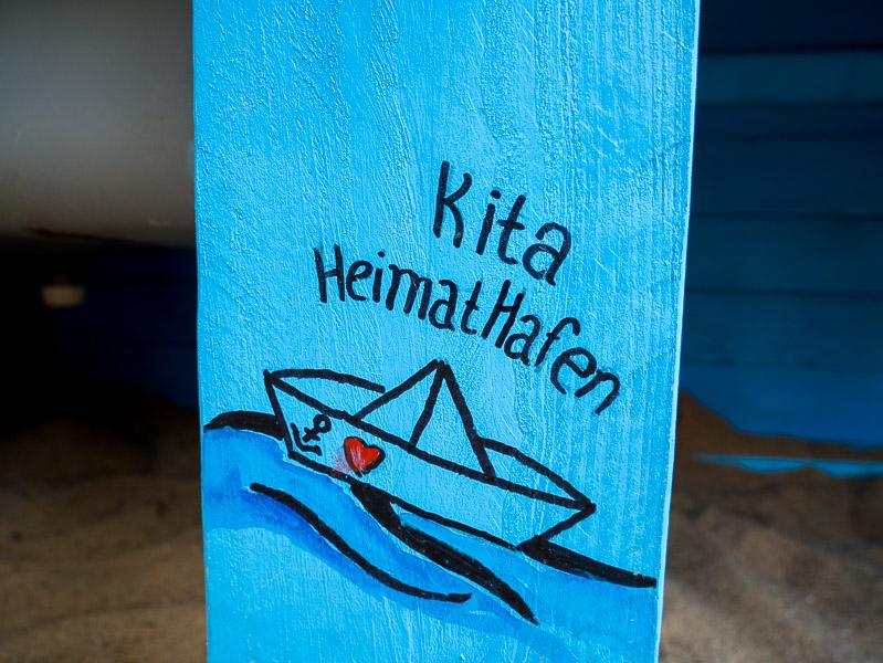 KiTa Heimathafen Außenbereich Matschküche